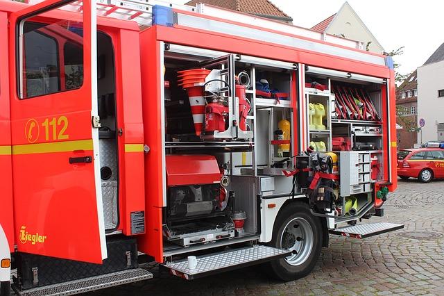 Schwerlastauszug Fahrzeugbau - Schwerlastschienen im Feuerwehrauto