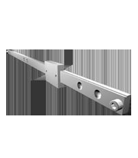 Schlitten MX-ST 60 - Teleskopschienen Schwerlast vom deutschen Hersteller Miluxor Schienen