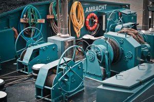 Teleskopschienen für schwere Lasten im Bereich Schiffbau