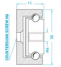 Technische Zeichnung MX CP 30