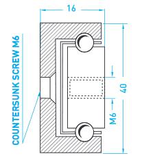 Technische Zeichnung MX CP 40