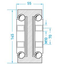 Technische Zeichnung MX DTP 145