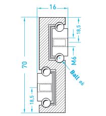 Technische Zeichnung MX S 70