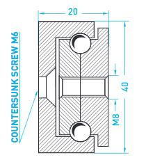 Technische Zeichnung MX ST 40