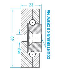Technische Zeichnung MX ST 60