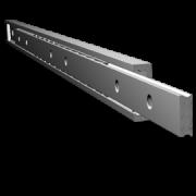 Schwerlastschienen Teilauszug MX-CP 40 - Miluxor Schienen deutscher Hersteller