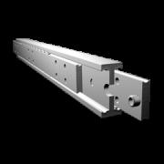 Vollauszug MX-DTP 90 - Schwerlast Teleskopschienen vom deutschen Hersteller Miluxor Schienen