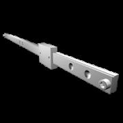 Schlitten MX-ST 40 - Teleskopschienen vom deutschen Hersteller Miluxor Schienen